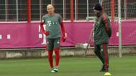 Comeback! Robben zurück im Mannschaftstraining