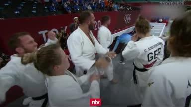 Judoka lassen Team D jubeln: So lief der Olympia-Tag