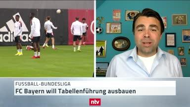 Strauchelt der FC Bayern gegen Frankfurt?