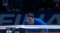 ATP Finals: Nishikori schlägt schwachen Federer