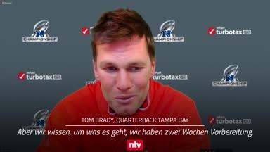 Das sagt Brady nach dem Einzug in den Super Bowl