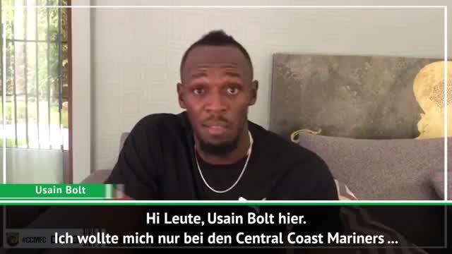 """A-League: Fußballprofi Bolt hat """"keine Limits"""""""