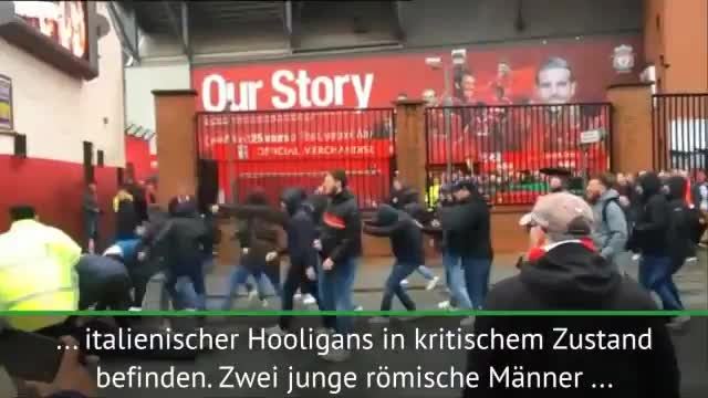 Randale vor Anfield: Reds-Fan niedergestochen