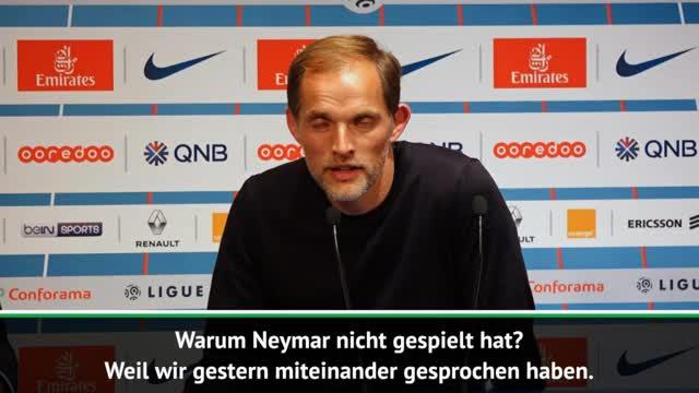 Thomas Tuchel: Bei Neymar läuteten meine Alarmglocken