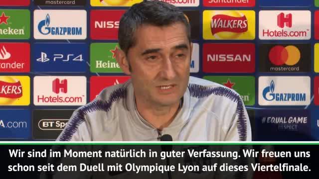 """Valverde warnt: """"United kann jedem wehtun"""""""
