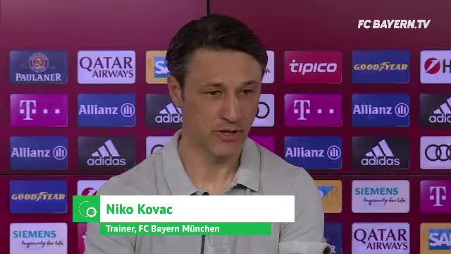 "Kovac' Meisterplan: ""Alle fünf Spiele gewinnen"""