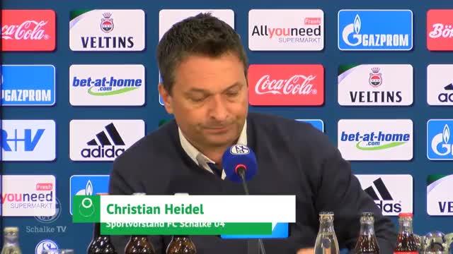 """Heidel zu Goretzka-Wechsel: """"Bedauern das sehr"""""""