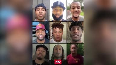 NFL-Stars setzen starkes Zeichen gegen Rassismus