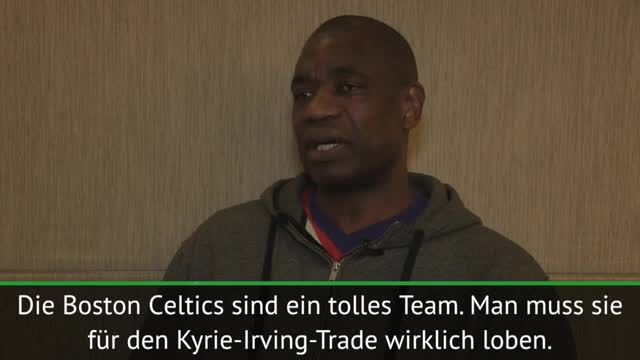 "Mutombo: ""Irving hat große Last auf Schultern"""