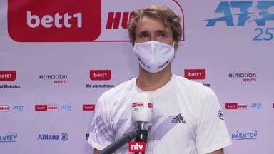 Zverev feiert nächsten Sieg in Köln
