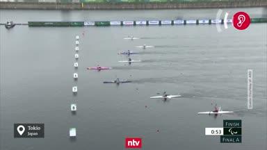 Kanutin Edina Müller holt Paralympics-Gold