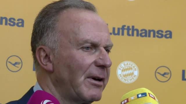 """Rummenigge: """"Keine Idee vom Neuer-Geheimplan"""""""