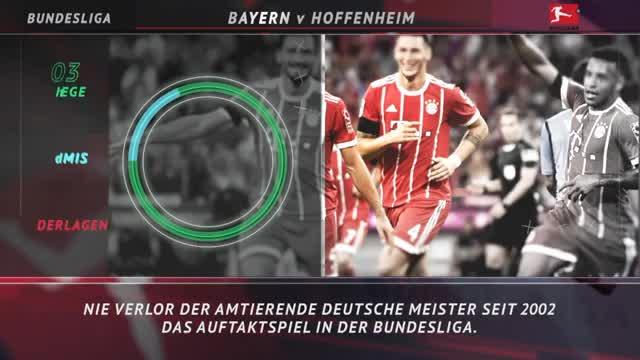 Fünf Fakten vor dem 1. Spieltag