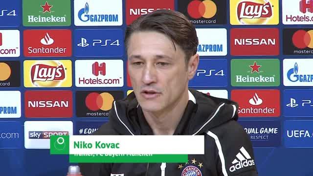 Kovac: Athen-Spiel auch wichtig für Dortmund
