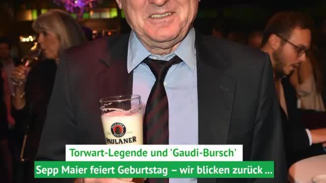 Torwart-Legende Sepp Maier wird 75 Jahre alt