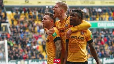 Dynamo Dresden trotzt dem Corona-Pech