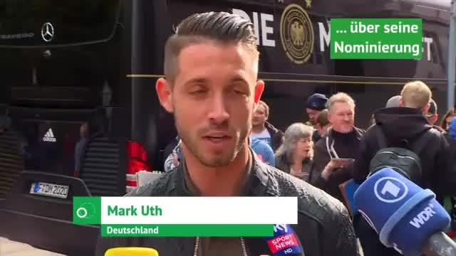 DFB-Neuling Uth über seine Ziele und Stärken
