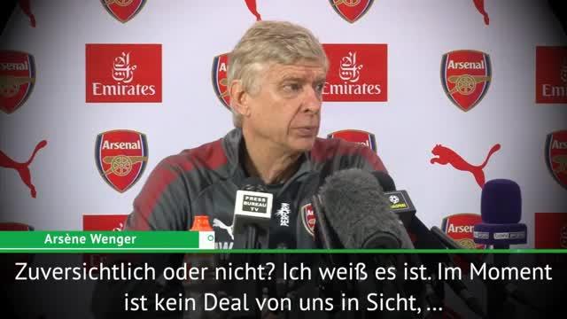 """Wenger: Aubameyang-Deal momentan """"nicht in Sicht"""""""