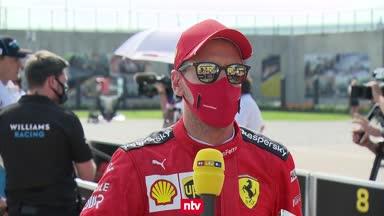 Das sagt Vettel zum Patzer und zur deutlichen Team-Kritik