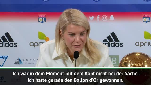 Ballon d'Or: Hegerberg über Sexismus-Vorwurf