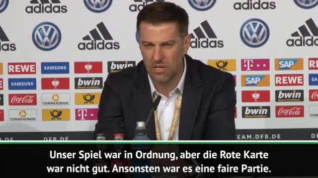 "Kristajic zu Horror-Foul: ""Bei Löw entschuldigt"""