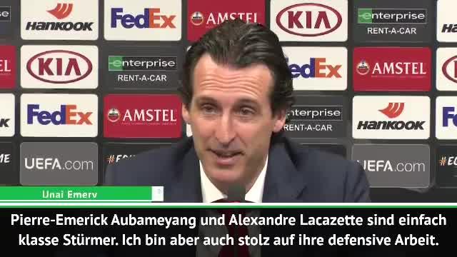 "Emery zur Aubameyang-Gala: ""Ein klasse Stürmer"""