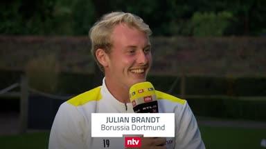 Nach Wechsel-Gerüchten: BVB-Star Brandt wird deutlich