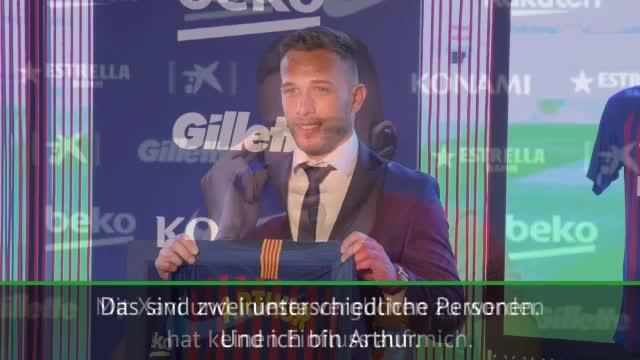 Arthur: Bin nicht Iniesta oder Xavi