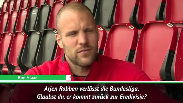 Robben in die Eredivisie? Das sagt Ron Vlaar