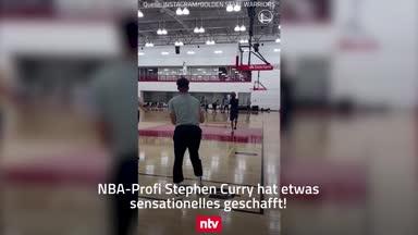 Rekord gebrochen! Irre Dreier-Show von Steph Curry
