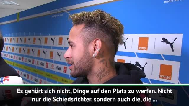 Neymar schockiert von Fan-Attacken