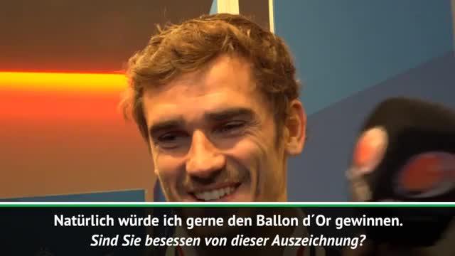 """Ballon d´Or: Griezmann """"nicht besessen"""""""