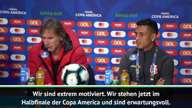 """Gareca vor Chile: """"Sind extrem motiviert"""""""