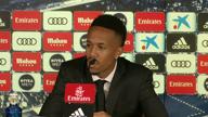 Bei Neymar-Frage: Militao muss PK abbrechen