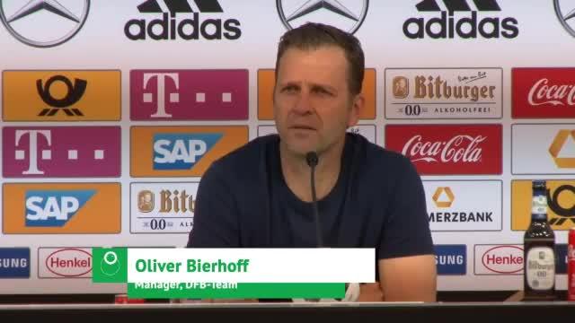 """Bierhoff zu Özil: """"Kein Risiko eingehen"""""""