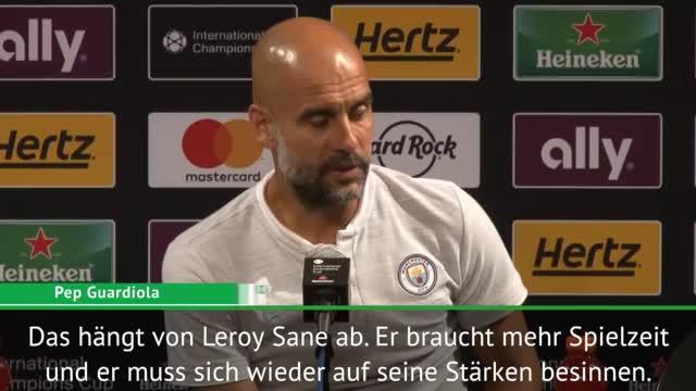 Während Sané-Aussage: Klopp crasht Guardiola-PK