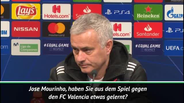 """Mourinho: """"Nichts aus diesem Spiel gelernt"""""""