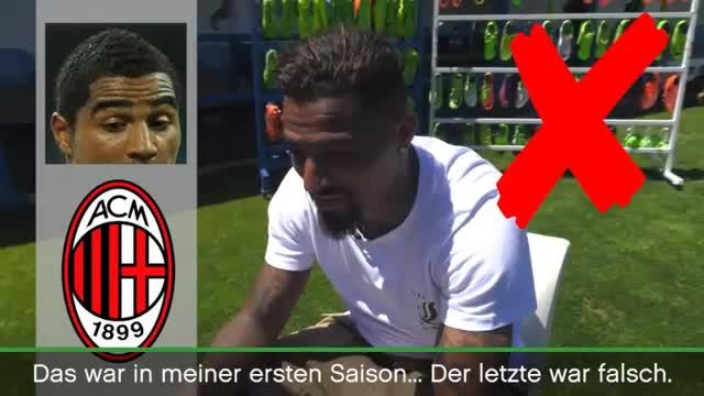 Erkennt Kevin-Prince Boateng seine Frisuren?