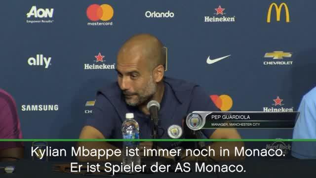 """Guardiola über Mbappé: """"Alles kann passieren"""""""
