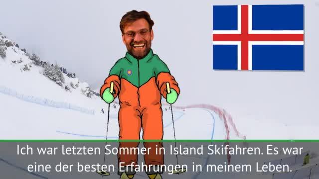 Jürgen Klopp wünscht Island den WM-Titel