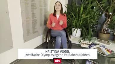 So gut kommt Kristina Vogel durch die Corona-Krise