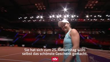 WTA-Turnier in Stuttgart: Barty erreicht Finale