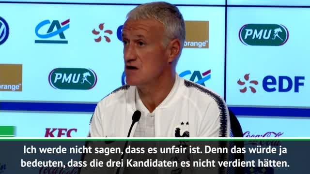 FIFA-Wahl ohne Griezmann? Deschamps 'enttäuscht'