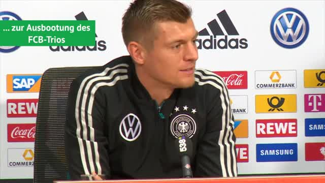"Kroos über Oranje, ""Traktor""-Kritik und FCB-Trio"