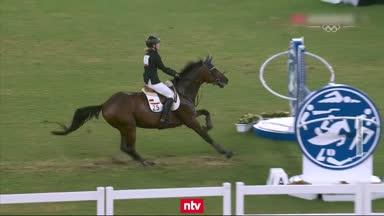 Deutsches Gold futsch: Reit-Drama um verängstigtes Pferd