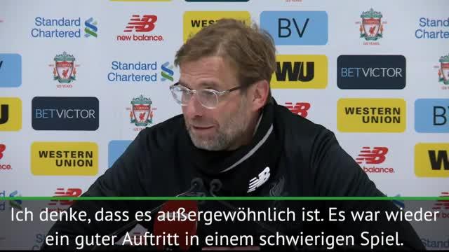 """Klopp zu Salah: """"Sehr beeindruckend"""""""
