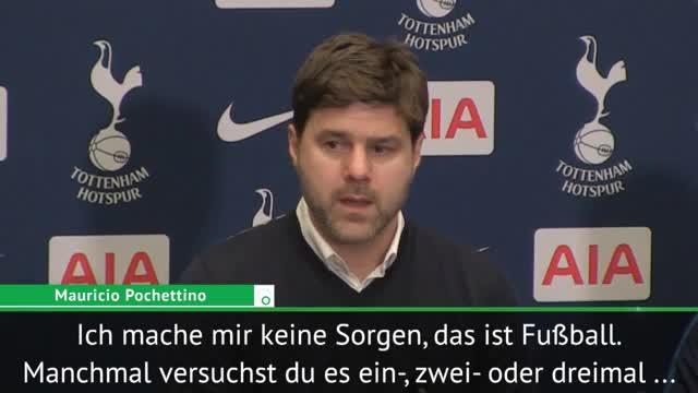 """Pochettino nach Remis: """"Mache mir keine Sorgen"""""""
