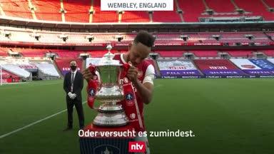 "Pokal-Panne: Aubameyang kriegt ""ihn"" nicht hoch"