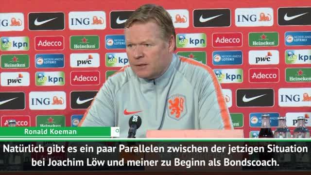 EM-Quali: So beurteilt Koeman Löws DFB-Umbruch