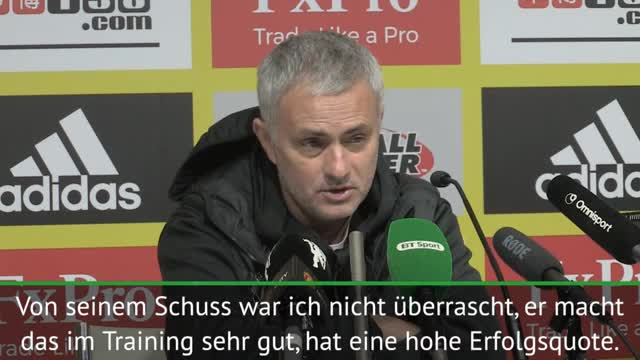 Nach Freistoß: Mourinho von Pogba überrascht